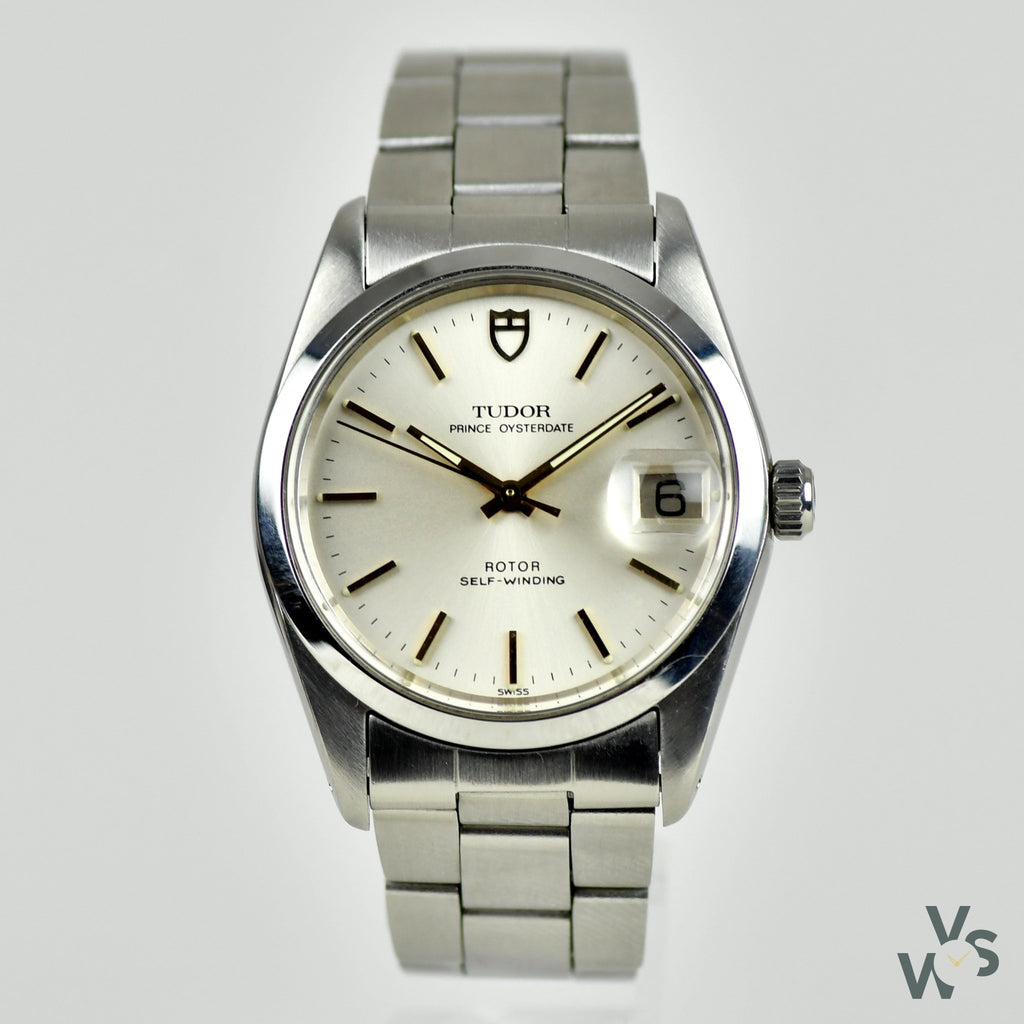 Tudor Prince Oysterdate Smooth bezel Auto-Prince - Vintage Watch Specialist