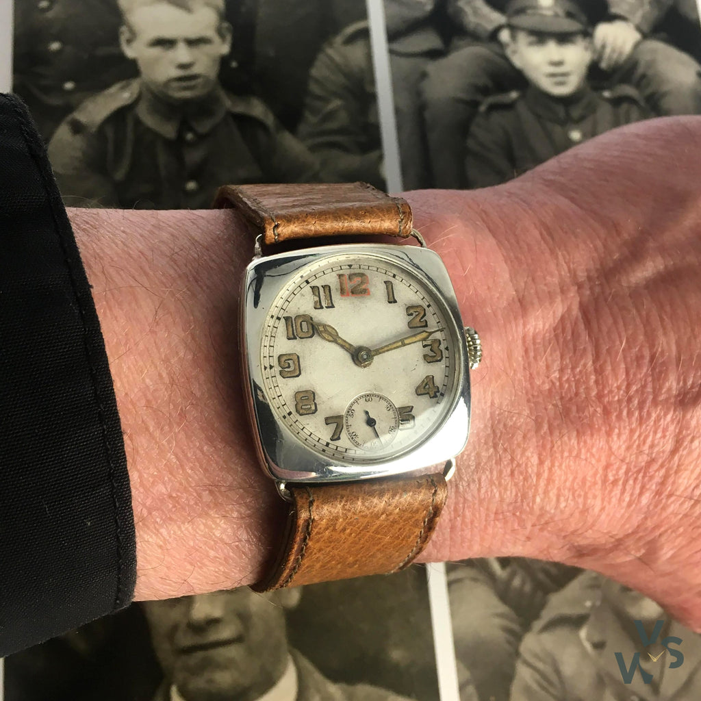 TV Case Trench Watch - Vintage Watch Specialist