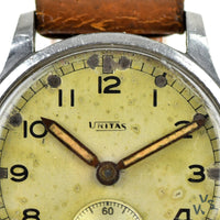 Unitas 'Bravingtons' ATP - Army Trade Pattern - British Army-issued WWII Watch c.1940s - Vintage Watch Specialist