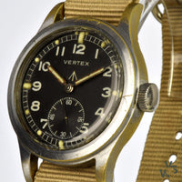 Vertex WWW - A Dirty Dozen Military Issued Wrist Watch - c.1945 - Calibre 59 Movement - Vintage Watch Specialist