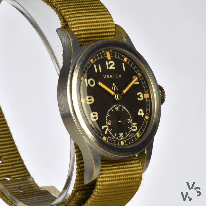 Vertex WWW 'Dirty Dozen' c.1944 World War II Military Watch - Vintage Watch Specialist