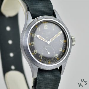 Vintage Buren WWW Dirty Dozen Word War II Military Soldiers Wrist Watch - Vintage Watch Specialist