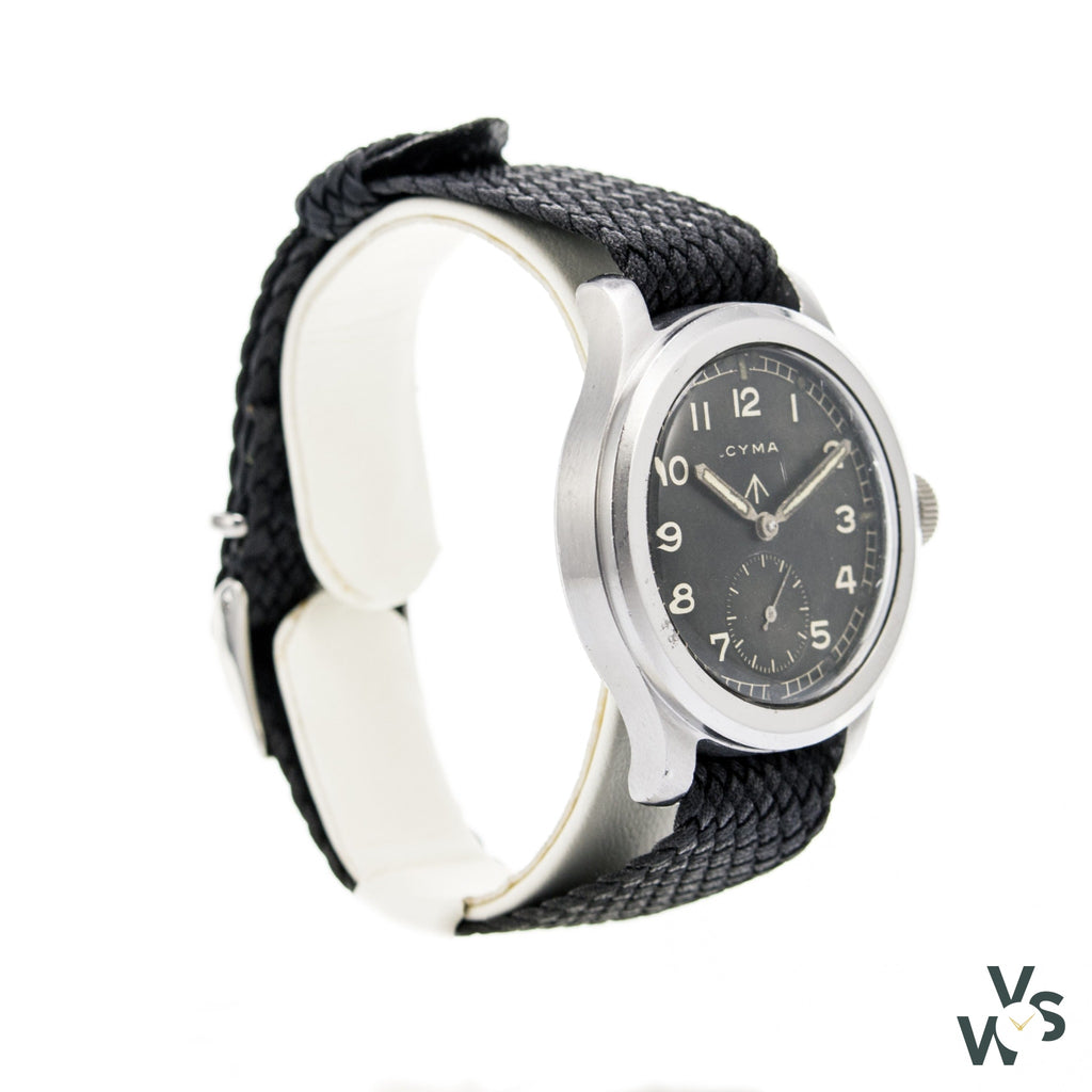 Www Cyma Military Watch - P12746-17746 - Calibre 234 15 Jewels - Vintagewatchspecialist