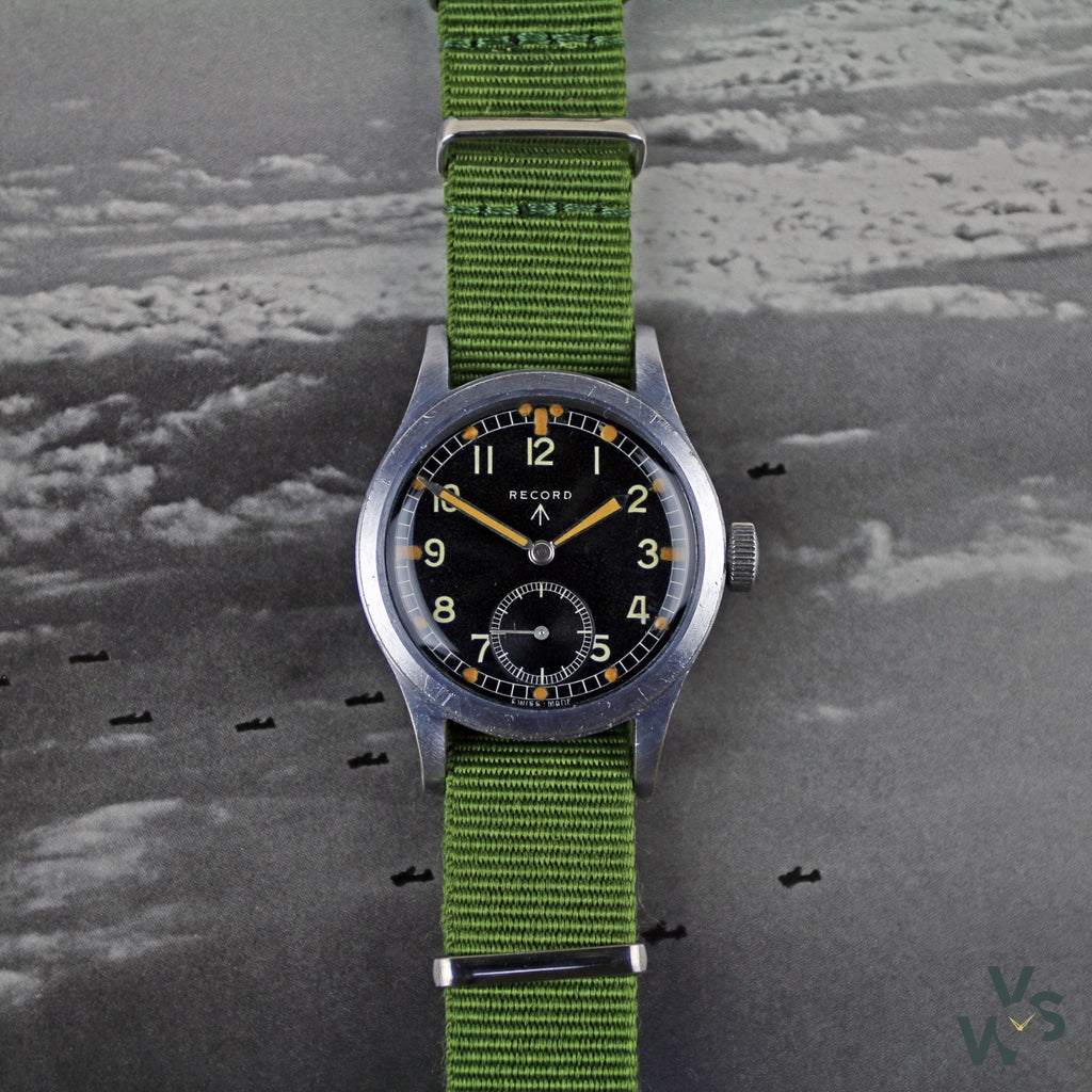 WWW Record Dirty Dozen - British Military Watch c.1945 - Vintage Watch Specialist