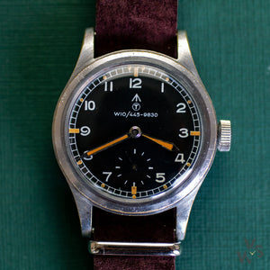 WWW Record Dirty Dozen British Military Watch - NATO Dial - Vintage Watch Specialist