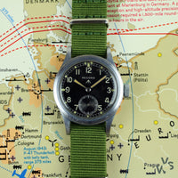 Record WWW Dirty Dozen Military Watch - Vintage Watch Specialist