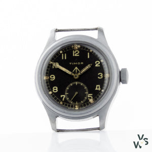 Www Timor Military Watch - Wwii Issue - Dirty Dozen - Vintagewatchspecialist