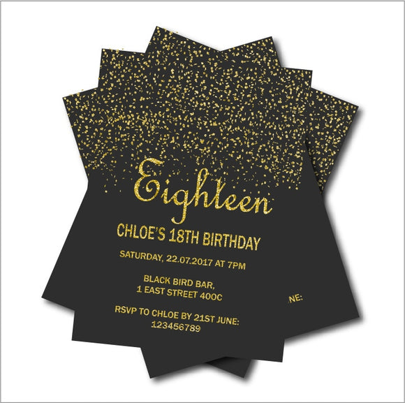 Decoration Party Invitation Cards