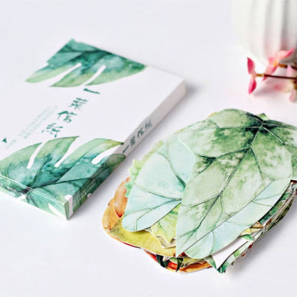 Leaf Paper Card 30 Sheets/Set