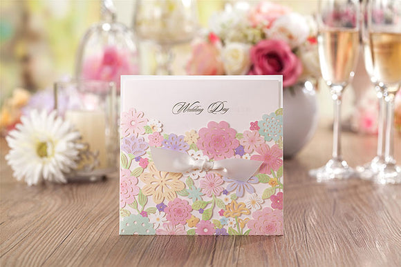 Elegant Invitation Envelop and Free Seal 50pcs/set