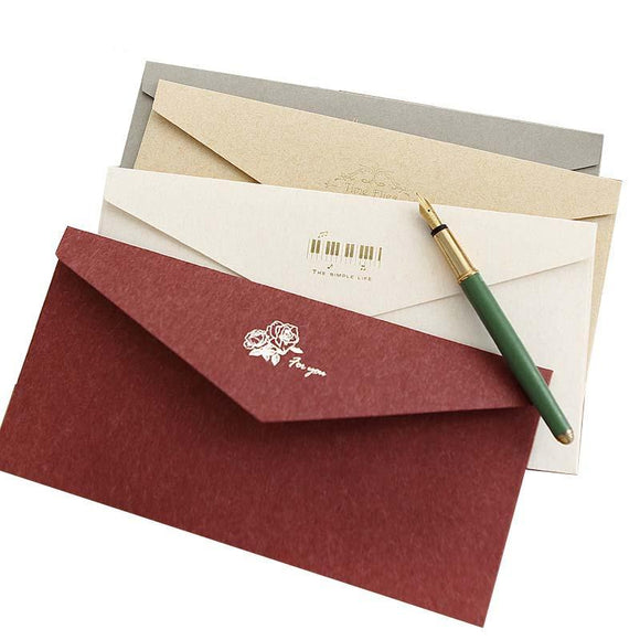 Simple Style Vintage Envelope 5pcs/lot