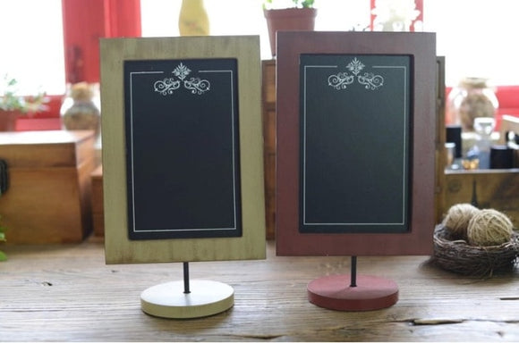 Retro Desktop Menu Stand