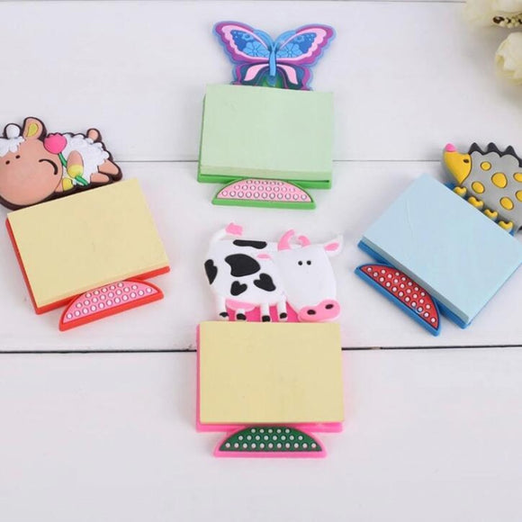 Cute Notepad with Magnetic Stickers 1 Piece