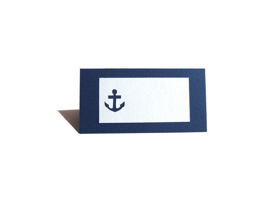 Nautical Place Card
