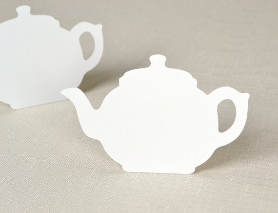 Tea Pot Table Card