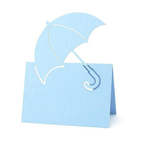 Umbrella Place Name Cards