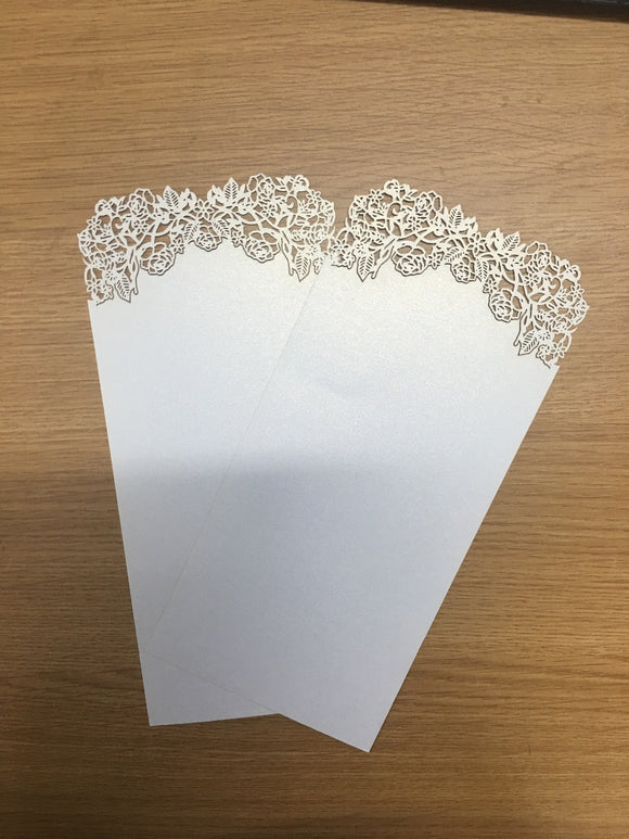 Wedding Decoration Menu Card 50pcs/lot