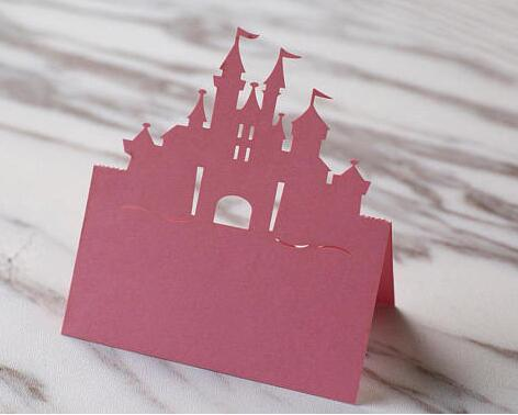 Fairy Tale Castle Place Card