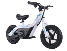 Load image into Gallery viewer, SYX MOTO SPARK Mini Electric Balance Bike Off Road, White