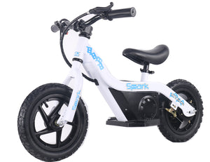 SYX MOTO SPARK Mini Electric Balance Bike Off Road, White
