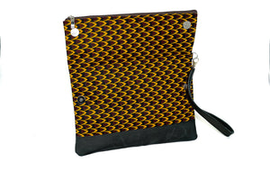 Fajara Ankara Fold Over Clutch