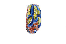 Load image into Gallery viewer, Kobina Mini Backpack in blue multi print