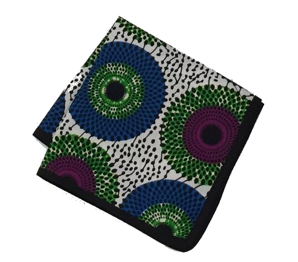 Osho pocket square in multi color pattern print