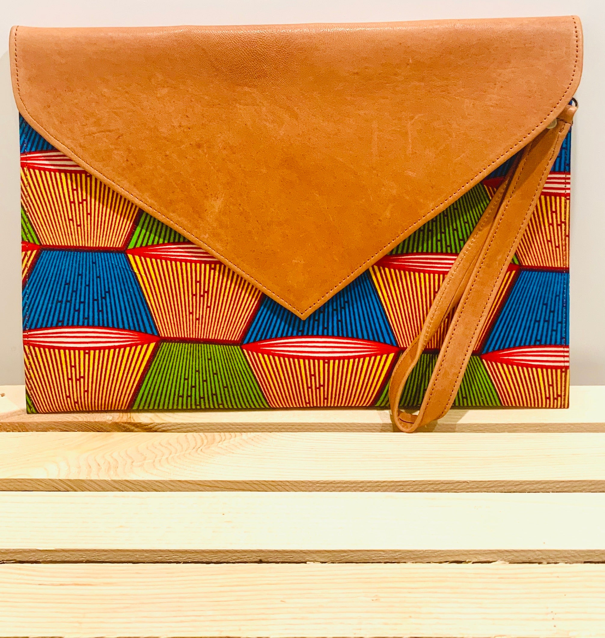 Yinka Oversized Envelope Clutch
