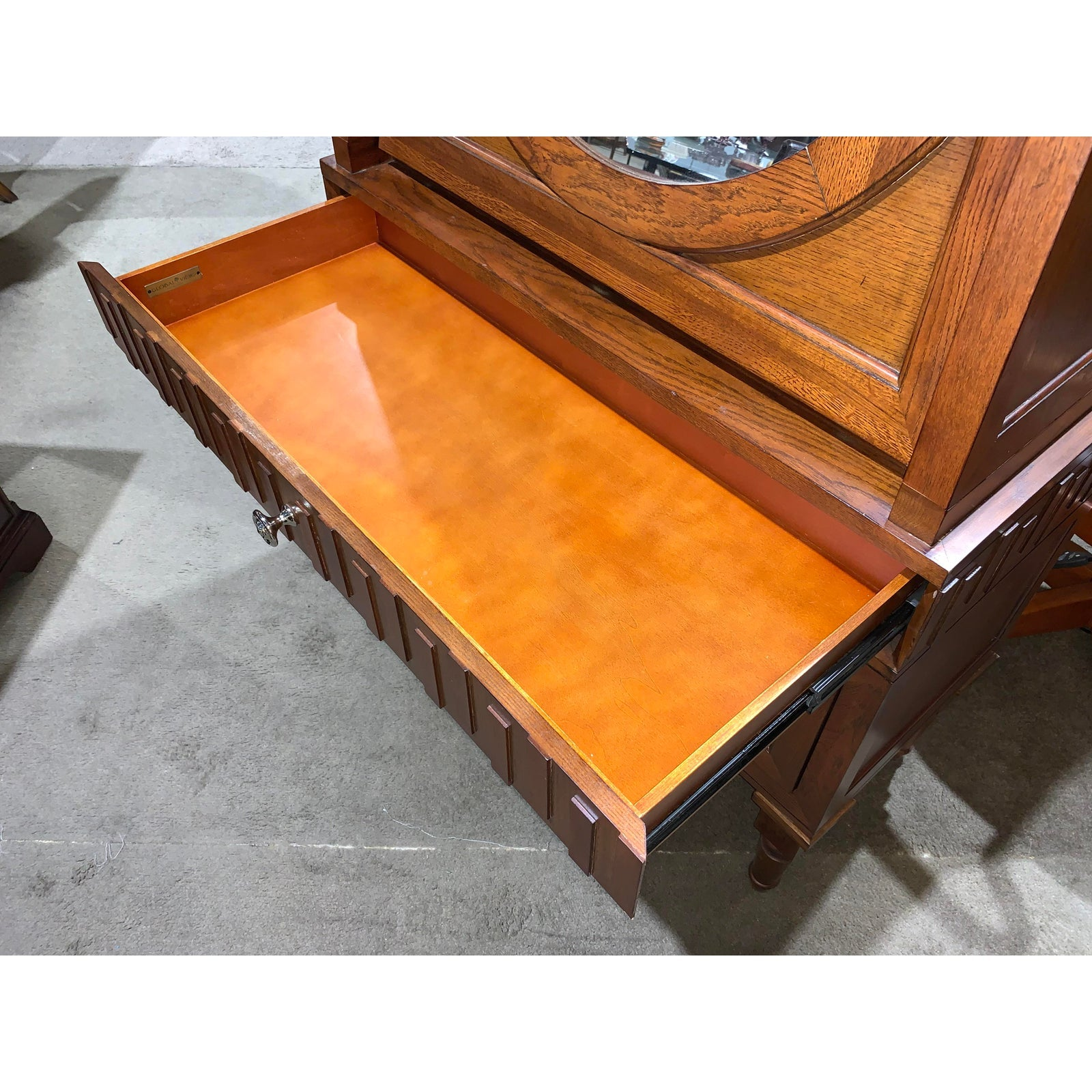 Global Views French Key Traditional Secretary Desk - Lynn's World Consignment™