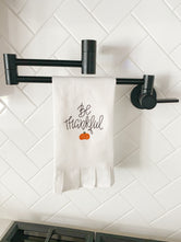 Be Thankful tea towel