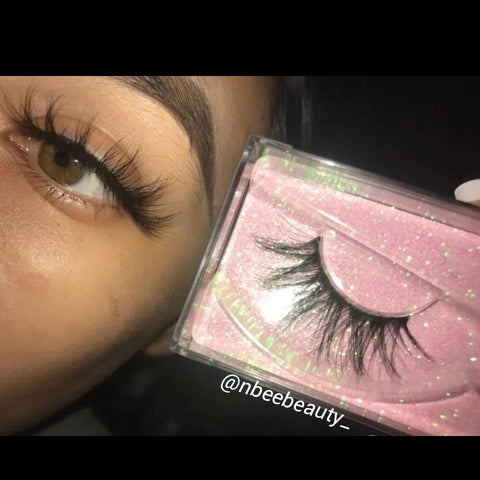 """Showtime""  Real Mink  Flutter Fur Eyelashes - Baddies Collection"
