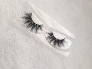 """Bad Ass"" Real Mink  Flutter Fur Eyelashes - Baddies Collection"