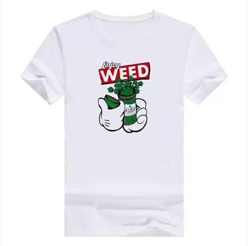 Weed Kush Graphic Unisex T-Shirt