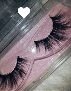 """Fire"" Real Mink Flutter Fur Eyelashes - Baddies Collection"