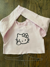 Hello Kitty FxCK OFF Cropped Chained Sweater — Size XS/S