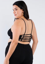Blunt in Hand Strappy Crop Top Plus Size