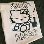 Smoke Meowt Hello Kitty T-Shirt