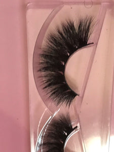 """Far from Basic"" Real Mink  Flutter Fur Eyelashes - Baddies Collection"