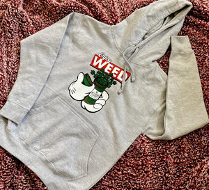 Enjoy Weed Cotton Hoodie — Women