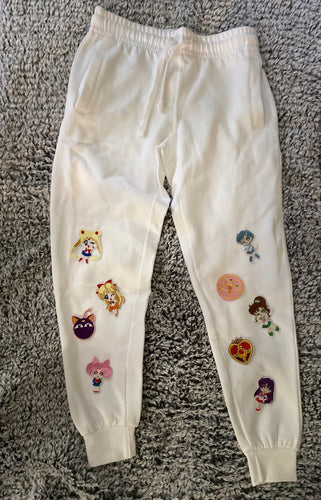 Little Sailor Moon and The Crew Patched Joggers