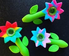 Silicone Flower Pipe