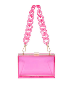 Clear it bag (PINK)