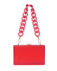 Clear it bag (RED)