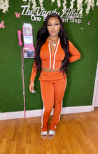 Load image into Gallery viewer, Orange VA Doll Track Suit