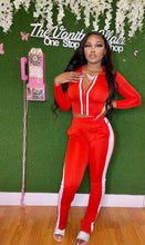 Load image into Gallery viewer, Red VA Doll Track Suit