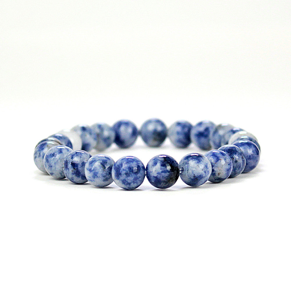 Clarity Sodalite 8mm Power Bracelet