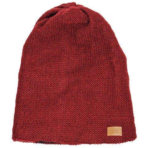 Burgundy Parkdale Slouch Hat