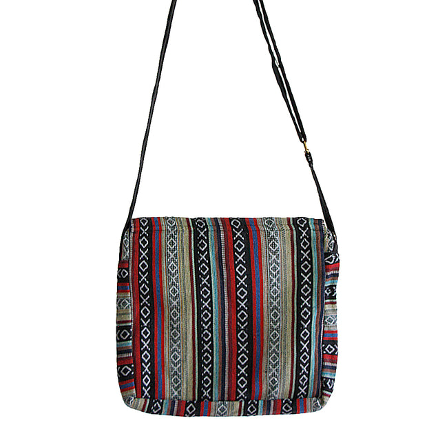 Black Mandu Shoulder Purse