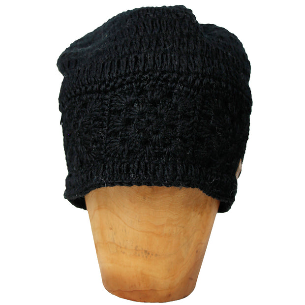 Black Zara Slouch Hat