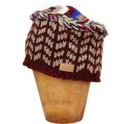 Burgundy Pushkar Hat
